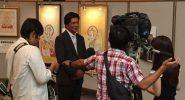 NHK 鳥取放送局の取材風景